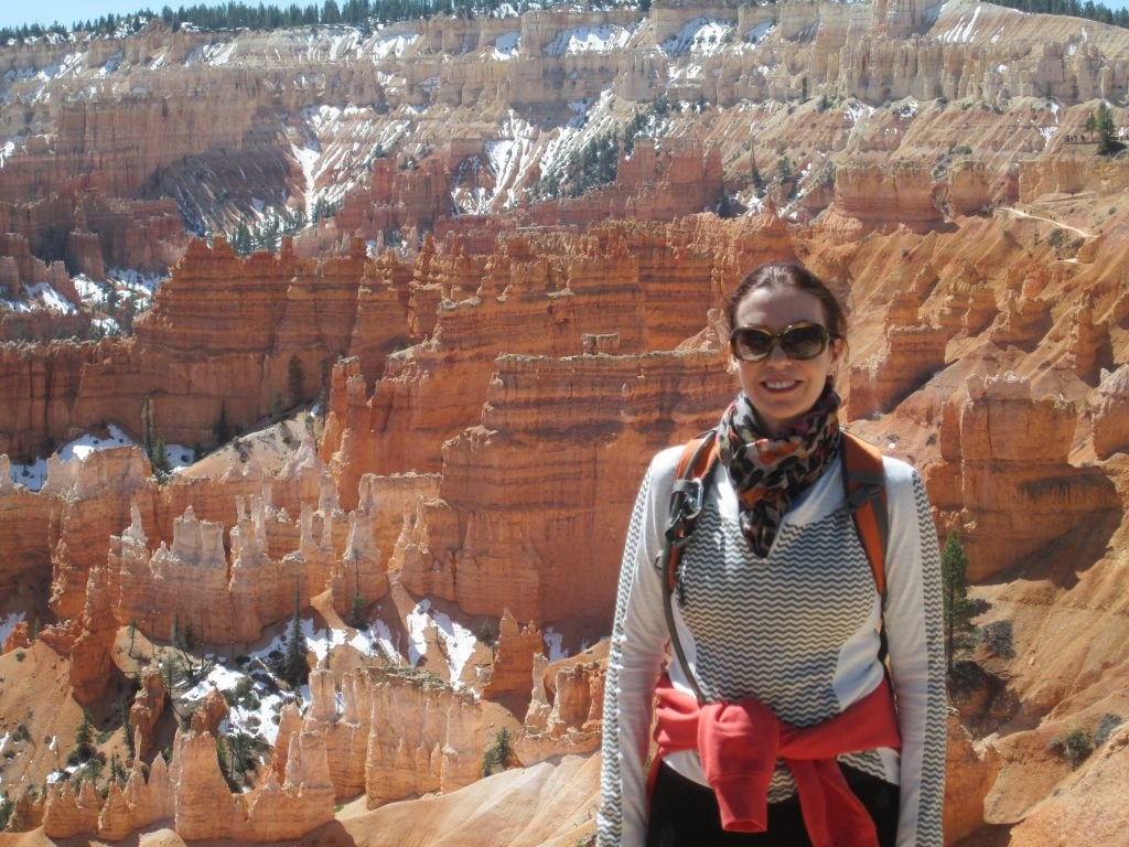 Angela O'Mara enjoys hiking when she's not out building world class aesthetic practice. Photo taken at Bryce Canyon, Utah.