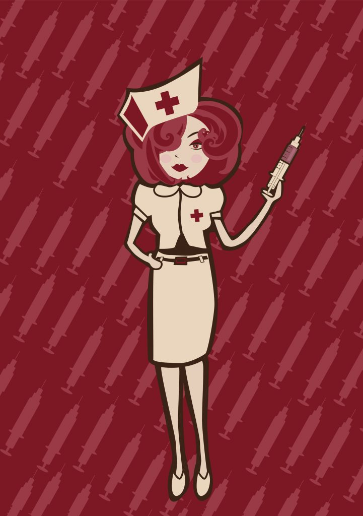 Did you know that nurses wore uniforms before doctors wore scrubs?