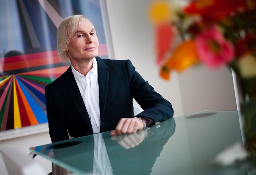 Dr. Fredric Brandt in his West Chelsea apartment in March 2012. Photograph by Piotr Redlinski/The New York Times/Redux.