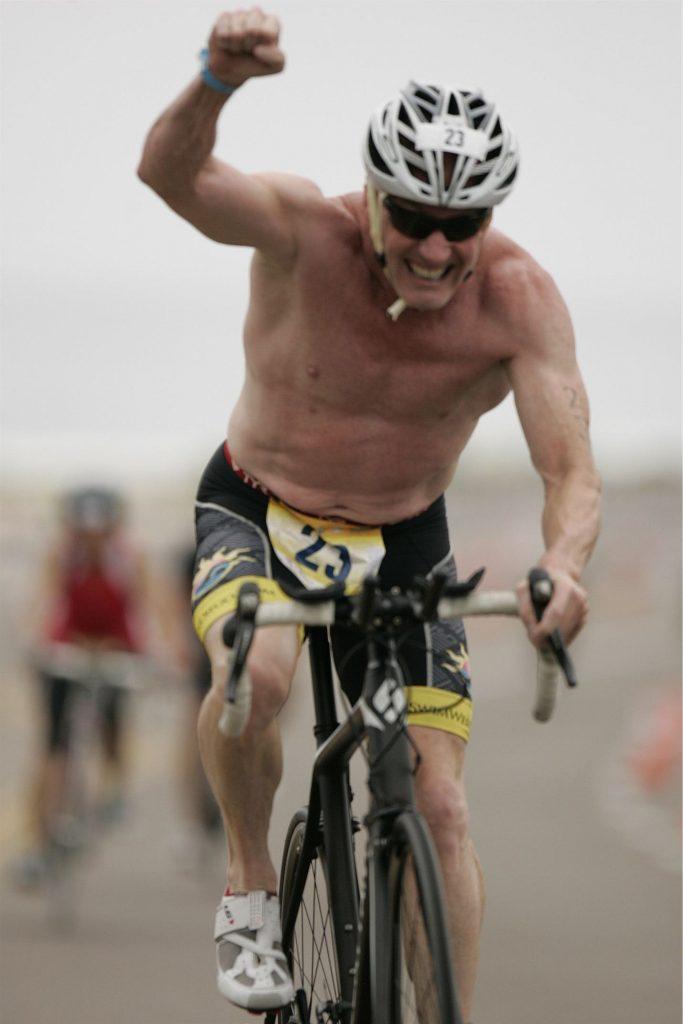 "r. Robert Shumway ""On the Bike & Charging Hard!"""
